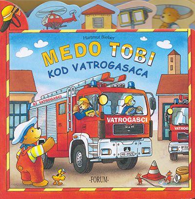 Medo Tobi kod vatrogasaca