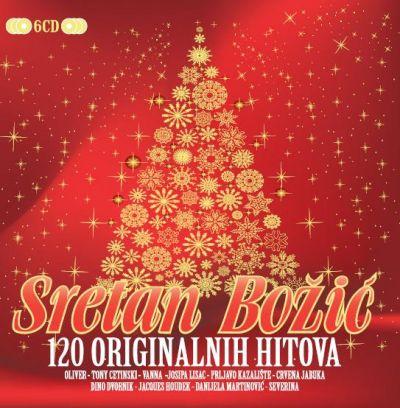 Sretan Božić - 120 originalnih hitova (CD)