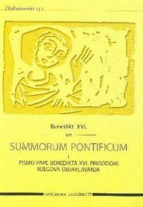 Summorum pontificum i pismo pape Benedikta XVI. prigodom njegova objavljivanja (D-152)