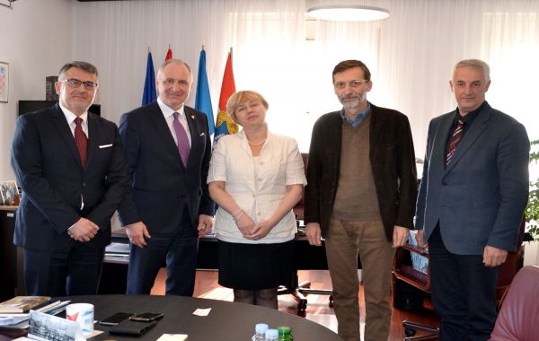 """Gradonačelnik Grada Splita primio u posjet dobitnicu nagrade """"Andrija Buvina"""""""