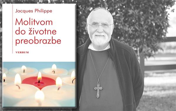 """Predstavljena knjiga """"Molitvom do životne preobrazbe"""" o. Jacquesa Philippea"""