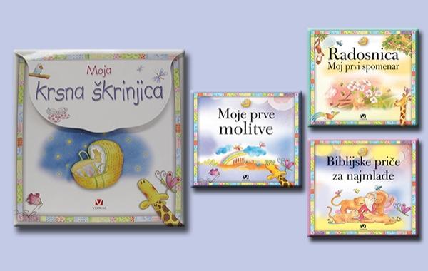 """Predstavljena knjiga """"Moja krsna škrinjica"""" u nizu dječjih izdanja"""