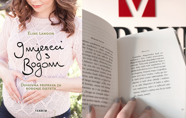 """Predstavljena knjiga """"9 mjeseci s Bogom"""" autorice Éline Landon"""