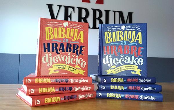 """Predstavljena nova izdanja za djecu """"Biblija za hrabre djevojčice"""" i """"Biblija za hrabre dječake""""!"""