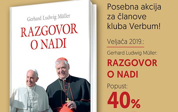 """Nova akcija """"Knjiga mjeseca u knjižarama Verbum"""" za članove kluba Verbum i partnere!"""