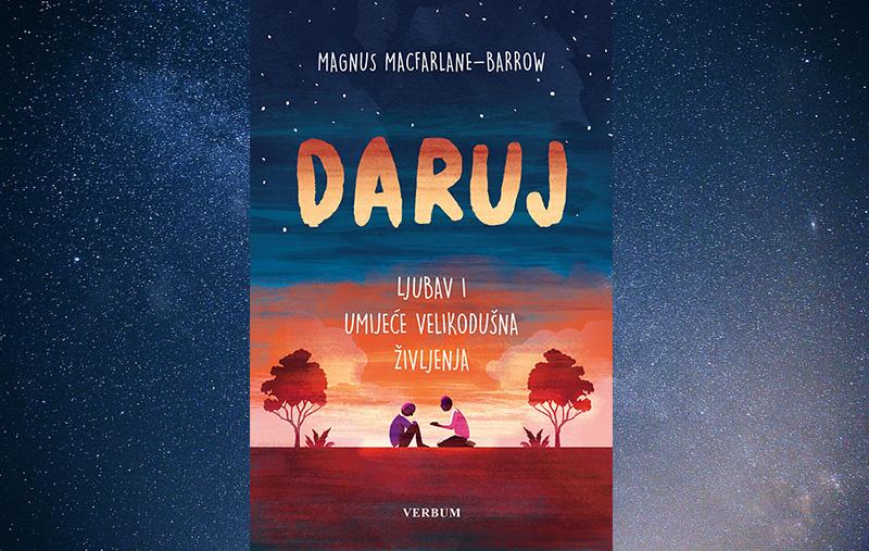 """Predstavljena knjiga """"Daruj"""" autora Magnusa MacFarlane-Barrowa, utemeljitelja Marijinih obroka"""