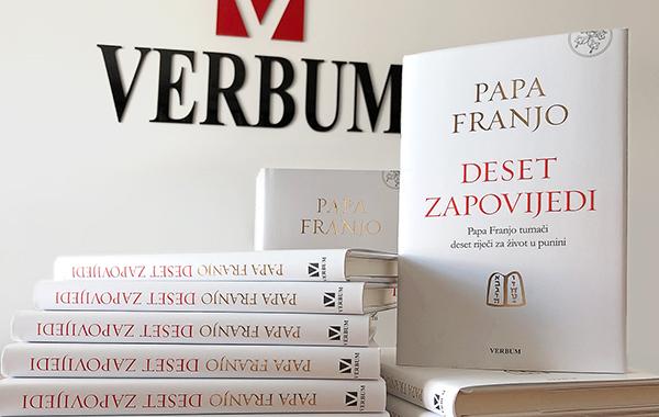"""Predstavljena nova Papina knjiga """"Deset zapovijedi"""""""