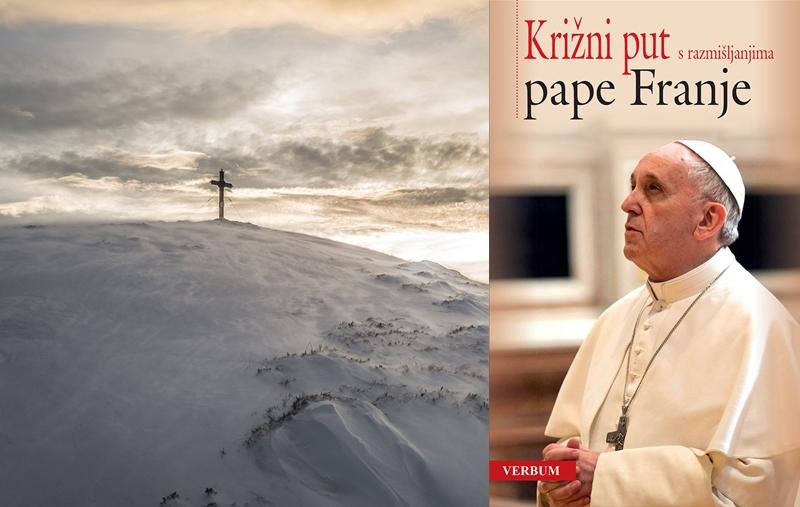 """""""Križni put s razmišljanjima pape Franje"""" 31. ožujka u pola cijene u Verbumu"""