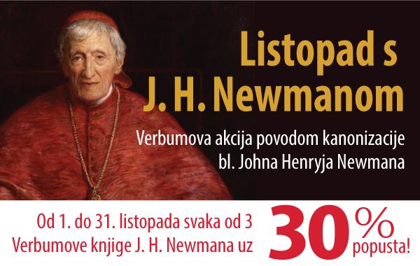 Akcija povodom kanonizacije kardinala Johna Henryja Newmana!
