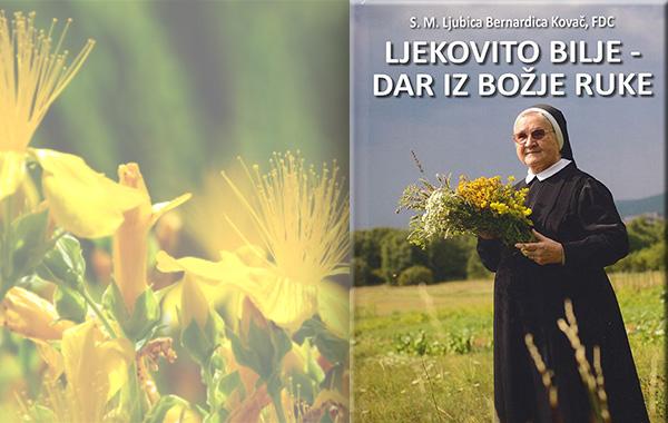 """Knjiga sestre Ljubice """"Ljekovito bilje - dar iz Božje ruke"""" ekskluzivno u Verbumu"""