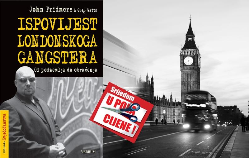 """""""Ispovijest londonskoga gangstera"""" 9. lipnja u pola cijene u Verbumu"""