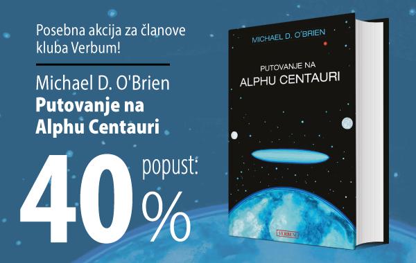 """""""Putovanje na Alphu Centauri"""" uz 40% popusta u knjižarama Verbum!"""