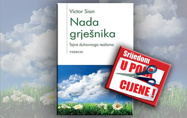 """""""Nada grješnika"""" 20. ožujka u pola cijene u Verbumu"""