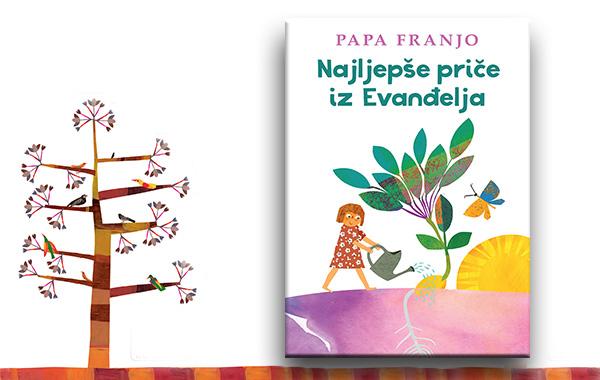 """Predstavljena knjiga za djecu """"Najljepše priče iz Evanđelja"""" pape Franje"""