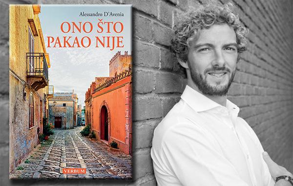 """Predstavljen izvrsni roman """"Ono što pakao nije"""" talijanskog pisca Alessandra D'Avenie"""
