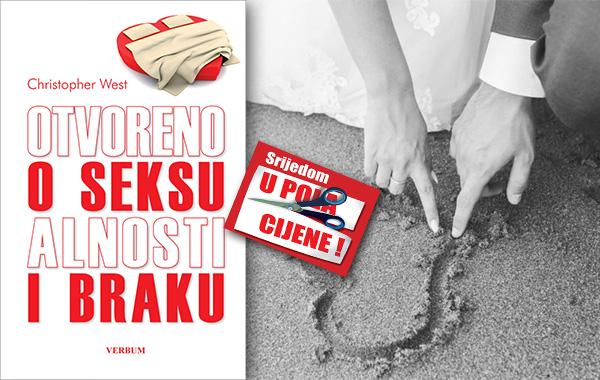 """Knjiga """"Otvoreno o seksualnosti i braku"""" 27. siječnja u pola cijene u Verbumu!"""