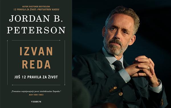 """Nova knjiga Jordana Petersona """"Izvan reda: još 12 pravila za život"""" izlazi istodobno na engleskom i hrvatskom jeziku"""