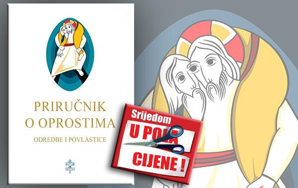 """""""Priručnik o oprostima"""" 27. ožujka u pola cijene u Verbumu"""