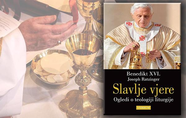 """Predstavljena iznimna knjiga """"Slavlje vjere"""" pape emeritusa Benedikta XVI."""