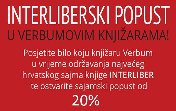 Interliberski popust u Verbumovim knjižarama!