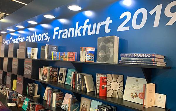 Nakladna kuća Verbum gostuje na 71. Sajmu knjige u Frankfurtu
