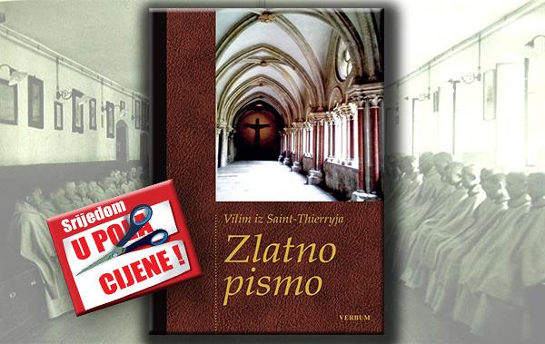 """Knjiga """"Zlatno pismo"""" 17. veljače u pola cijene u Verbumu"""
