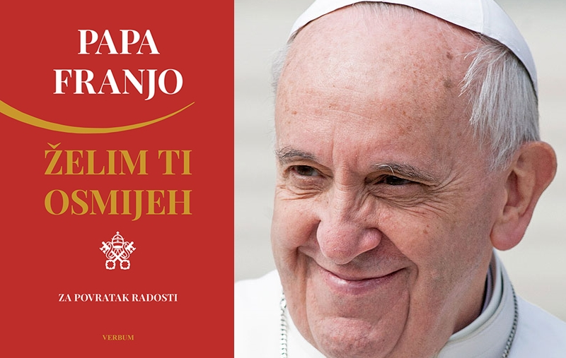 "Predstavljena knjiga ""Želim ti osmijeh"" pape Franje"