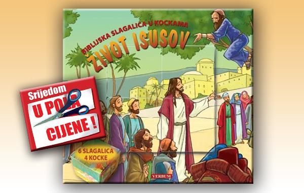 """""""Život Isusov - biblijska slagalica u kockama"""" 6. studenoga u pola cijene u Verbumu"""