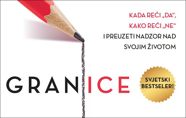"""Svjetski bestseler """"Granice"""" dostupan u knjižarama Verbum"""