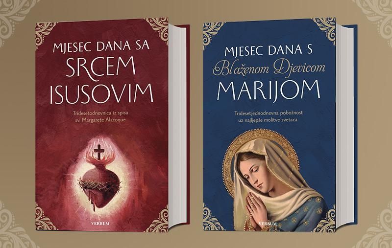 Nova Verbumova hit izdanja! Molitvenici Srcu Isusovu i Blaženoj Djevici Mariji