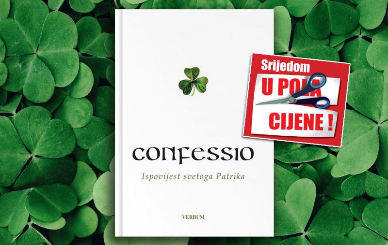 """Knjiga """"Confessio"""" 17. ožujka u pola cijene u Verbumu!"""