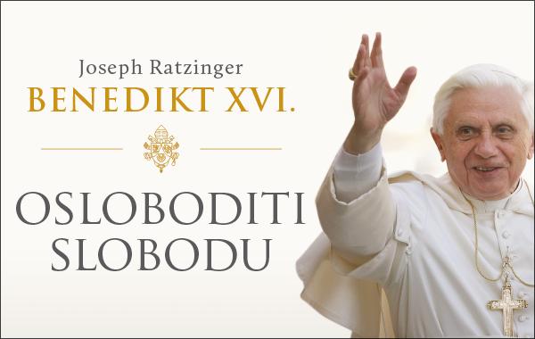 """Nova knjiga """"Osloboditi slobodu"""" pape Benedikta XVI. stigla u knjižare Verbum!"""