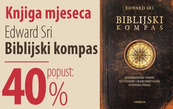 """Knjiga mjeseca """"Biblijski kompas"""" uz 40% popusta za članove kluba Verbum!"""
