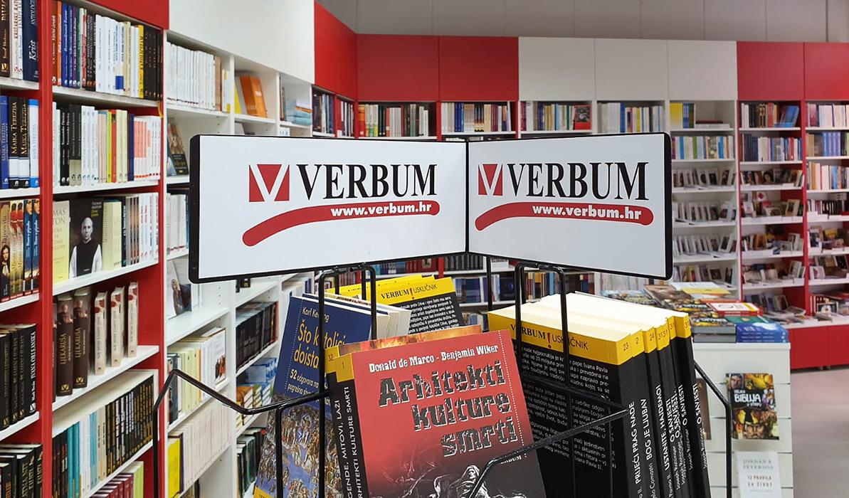 Popusti dobrodošlice u svim knjižarama Verbum!