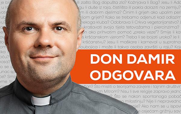 "Novo Verbumovo izdanje: hit knjiga don Damira Stojića ""Don Damir odgovara"""