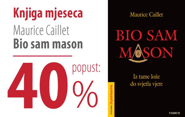 """Potresna ispovijest """"Bio sam mason"""" uz 40% popusta u knjižarama Verbum!"""