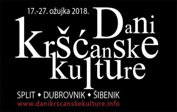 """Započinju 14. """"Dani kršćanske kulture"""" u Splitu,Dubrovniku i Šibeniku"""