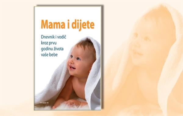 """Knjiga """"Mama i dijete"""" dostupna u pola cijene samo u srijedu 12. listopada u Verbumu"""