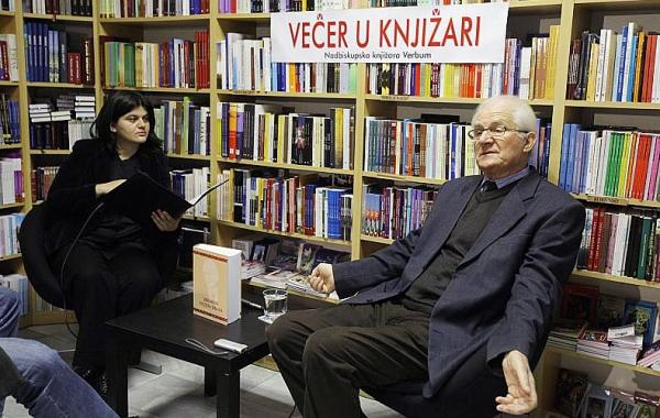 """Stijepo Obad  gostovao na """"Večeri u knjižari"""" u Zadru u studenome"""