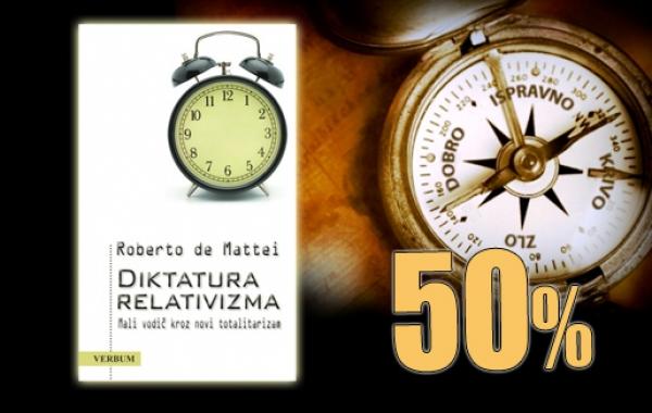 """""""Diktatura relativizma"""" Roberta de Matteija 7. prosinca dostupna u pola cijene u Verbumu"""
