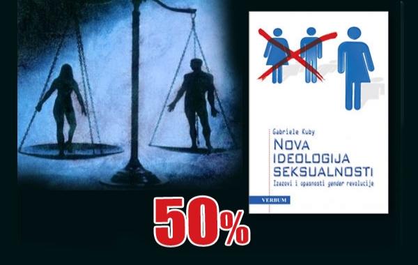 """Knjiga Gabriele Kuby """"Nova ideologija seksualnosti"""" 18. siječnja dostupna u pola cijene u Verbumu"""