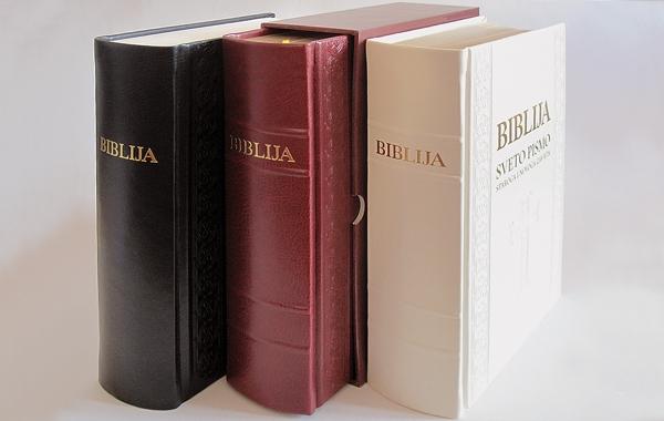 Predstavljeno novo hrvatsko izdanje Biblije velikog formata