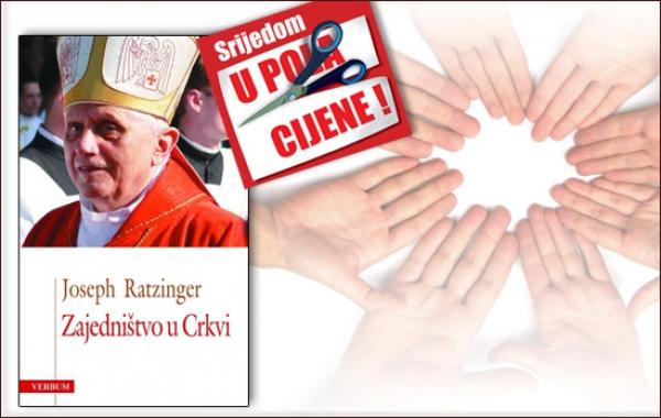 """Papina knjiga """"Zajedništvo u Crkvi"""" 1. veljače dostupna u pola cijene u Verbumu"""