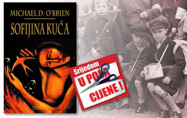 """O'Brienov roman """"Sofijina kuća"""" 8. veljače dostupan u pola cijene u Verbumu"""