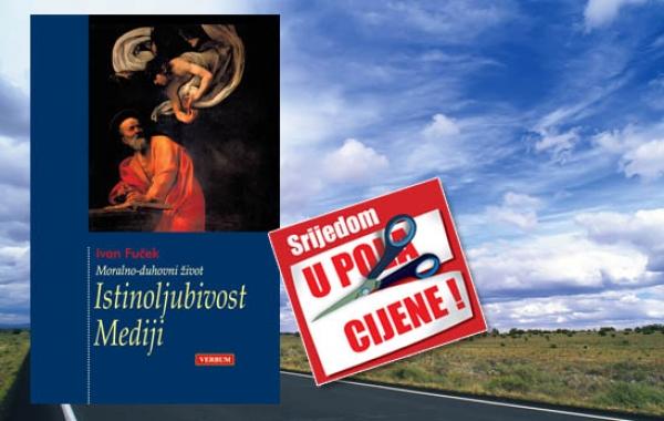 """Knjiga """"Istinoljubivost - Mediji"""" Ivana Fučeka 11. travnja u pola cijene u Verbumu"""