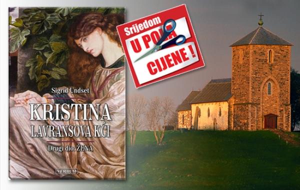 """Drugi dio trilogije """"Kristina,Lavransova kći"""" 25. travnja u pola cijene u Verbumu"""
