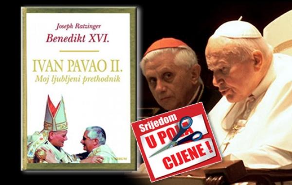 """Knjiga """"Ivan Pavao II. Moj ljubljeni prethodnik"""" 16. svibnja u pola cijene u Verbumu"""