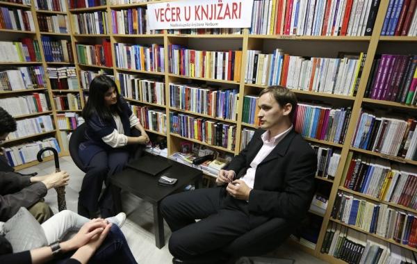 """Marko Vučetić gostovao na """"Večeri u knjižari"""" u svibnju u Zadru"""