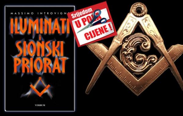 """Knjiga """"Iluminati i Sionski priorat"""" 4. srpnja u pola cijene u Verbumu"""
