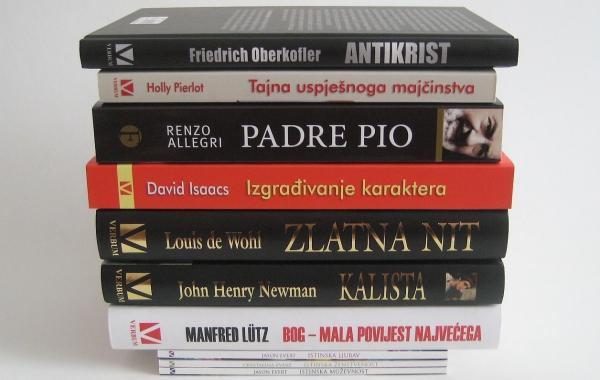 Top ljestvica najtraženijih naslova u Verbumovim knjižarama u srpnju